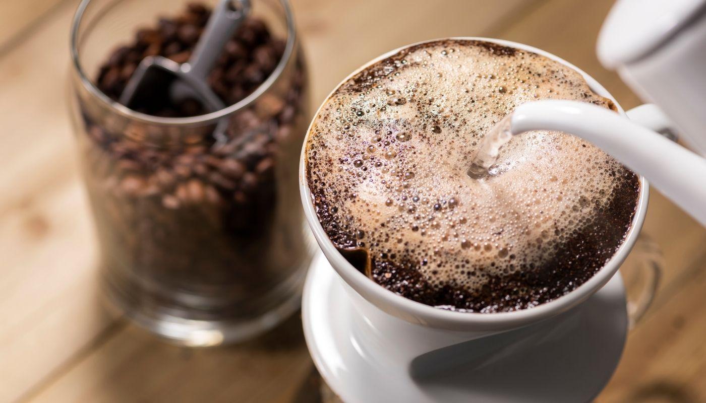 Brewed Coffee in the Fridge